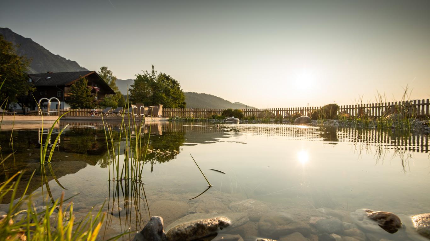 Chagall Giardini realizza biolaghi balneabili a Castagnole Piemonte